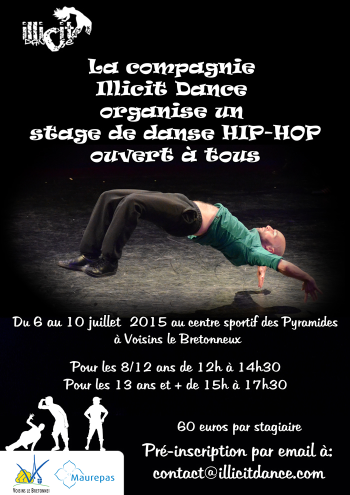 Stage juillet illicit dance